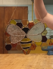 Student work from Stained Glass